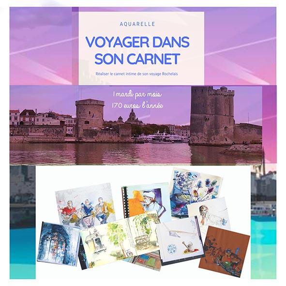 carnet de voyage sur La Rochelle